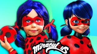 Alice becomes like a Ladybug Miraculous superhero and gets magical power