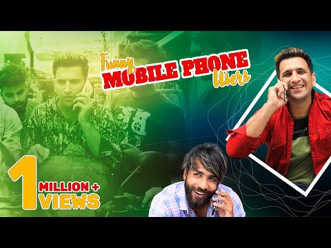 Funny Mobile Phone Users    HYDERABADI Comedy    Kiraak Hyderabadiz