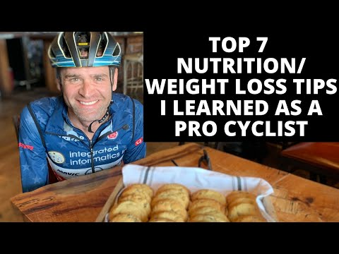 Top 7 Nutrition Tips I Learned as a Pro Cyclist for Health, Performance, and Sustainable Weight Loss