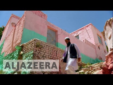 Afghanistan's homes transformed into array of colour