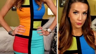 OOTD: Nicki Minaj Mod Colorblock Dress on Mother