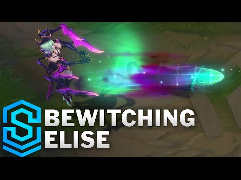 Bewitching Elise Skin Spotlight - Pre-Release - League of Legends