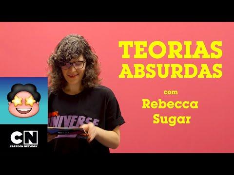 Teorias Absurdas Com Rebecca Sugar | Steven Universo | Cartoon Network