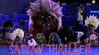 Saiyan Thriller(Parody-Michael Jackson)Dragon Ball Thriller By Salvatore La Monica