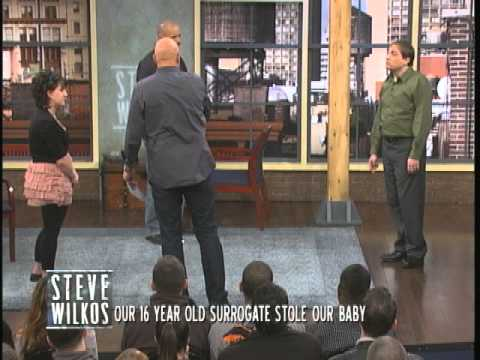 16 Year Old Surrogate Stole Our Baby (The Steve Wilkos Show)