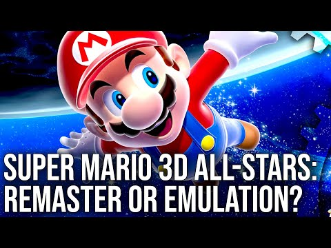 Super Mario 3D All-Stars Tech Review: Remaster, Emulation... or Both?