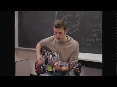 """Stray Heart"" Green Day audition cover - Spencer Broschard"