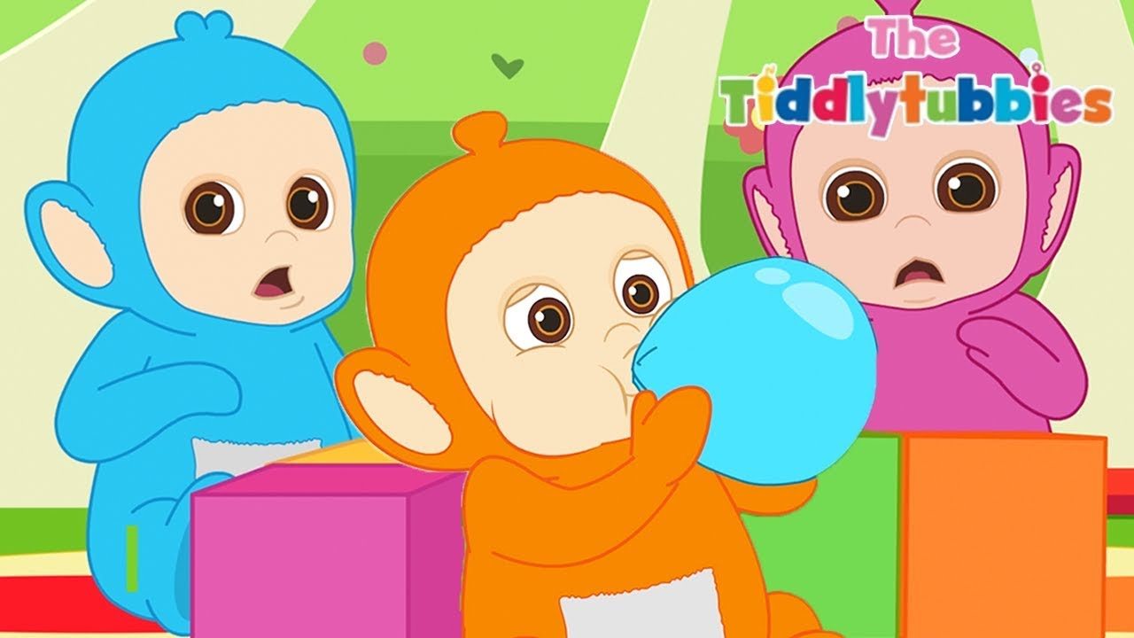 Download Teletubbies ★ NEW Tiddlytubbies 2D Series! ★ Episode 6: Balloons ★ Cartoons for Kids