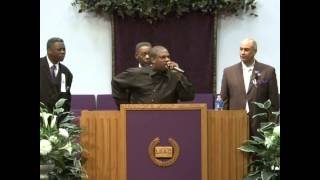 "Elder Mark Brown  - ""Anointing Fall On Me!"" pt. 1"