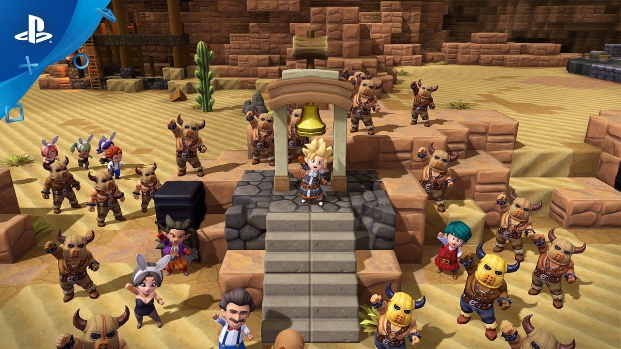 Dragon Quest Builders 2 - Trailer di lancio | PS4