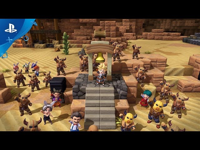 Dragon Quest Builders 2 - Launch Trailer | PS4