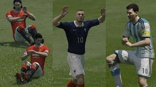 FIFA 15 ALL 18 Unlockable CELEBRATIONS TUTORIAL (PS4, Xbox ONE, PS3, Xbox 360, PC)