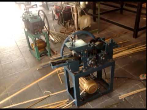 Perekayasaan Mesin Irat Bambu untuk Kerajinan Anyaman Bambu