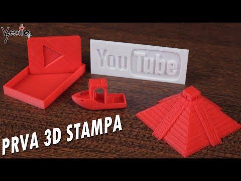 Kako radi Anet A8 3D stampac