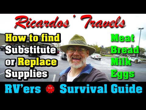 rv'ers-survival-guide-on-finding-&-substituting-food-and-supplies-+-disinfecting-your-rv