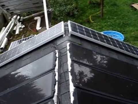 Amorphous Solar Panels Failure Youtube