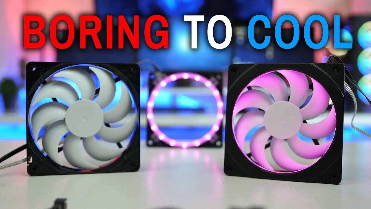 Turn Normal Boring Fans Into Cool RGB - Phanteks HALOS RGB Fan FRAME