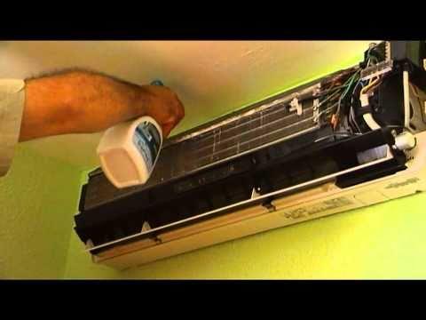 Como limpiar aire acondicionado video 2 de 2 unidad for Temperatura de salida de aire acondicionado split