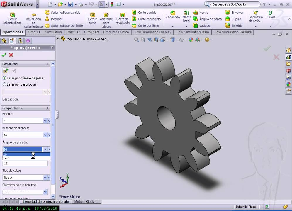 Involute gear tooth profile generator for dating 9
