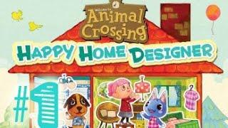 ►Happy Home Designer►ANIMAL CROSSING ► PART 1
