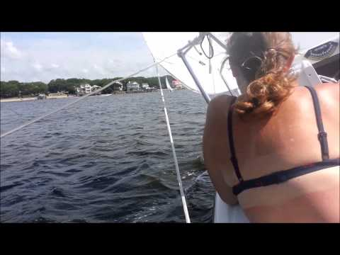 MacGregor 26M - Galactica sailing Cape Fear.  Part One: Rendezvous