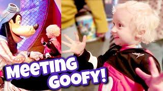 Meeting Goofy!