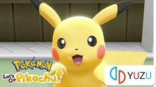 Pokémon Let's Go, Pikachu!  - Yuzu Canary 2205 - i5 8250U Gameplay