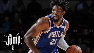 Joel embiid proved he's worth big contract with 76ers | the jump | espn