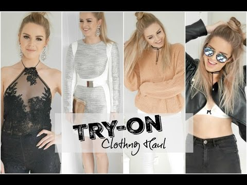 Try-on Autumn Clothing Haul ♡ Casual & Formal ♡