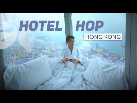 The Hotel Hop, Hong Kong - St. Regis, Ritz-Carlton, W