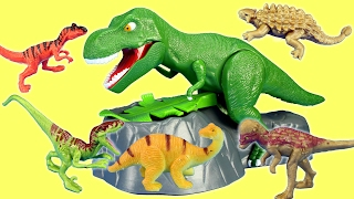 Dinosaur T-rex Dino Meal Game Rescue Jurassic World Minifigures Dinosaurs For Kids