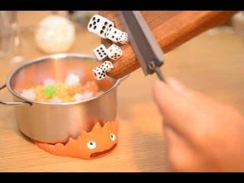 Stopmotion Cooking-Fireworks-[ASMR/GHIBLI/Miniature]