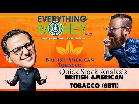 British American Tobacco ($BTI) - Quick Stock Analysis