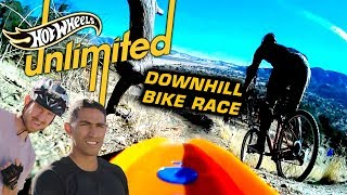 TEAM EDGE: HOT WHEELS VS. MOUNTAIN BIKES! WHO WILL WIN? | Hot Wheels Unlimited | Hot Wheels
