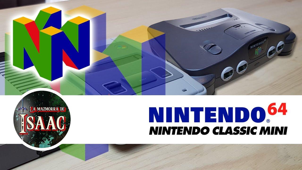 Asi Sera La Nintendo 64 Classic Mini Fecha De Lanzamiento Precio