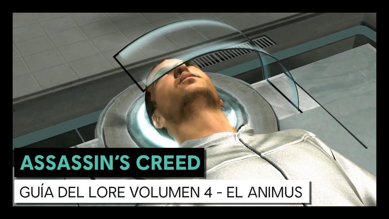 ASSASSIN'S CREED GUÍA DEL LORE VOLUMEN 4 - EL ANIMUS