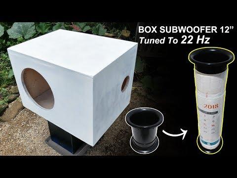 "Custom box port Subwoofer 12"" (tuned to 22Hz)"