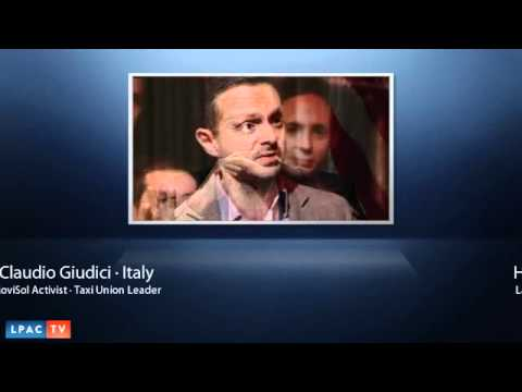 Interveiw With Claudio Giudici · The Mass Strike in Italy
