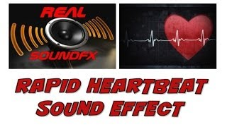 Heartbeat fast rapid pounding sound effect - 120bpm realsoundFX
