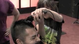 Josiah's Head Shaving