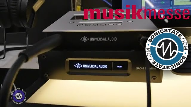 MESSE 2016: Universal Audio UAD2 Satellite USB