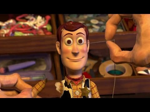 Toy Story 2 - Deleted Cleaning Woody Scene (HD)