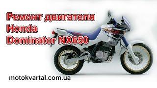 Ремонт двигуна Honda Dominator NX650
