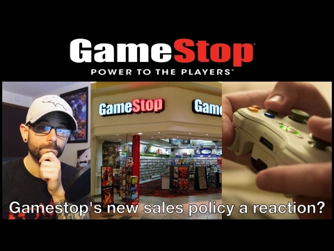 What Gamestop's Crummy New Policy Says About the Gaming Industry