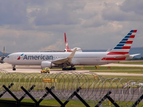American Airlines 767 - Fuel Imbalance at Manchester - 3rd July 2016