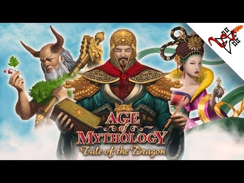 Age of Mythology EX - Mission 3 FROM BELOW | Tale of the Dragon Campaign [HARD/1080p/HD]