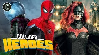 Spider-Man: Far From Home SPOILER Review; SDCC Superhero Panels - Heroes