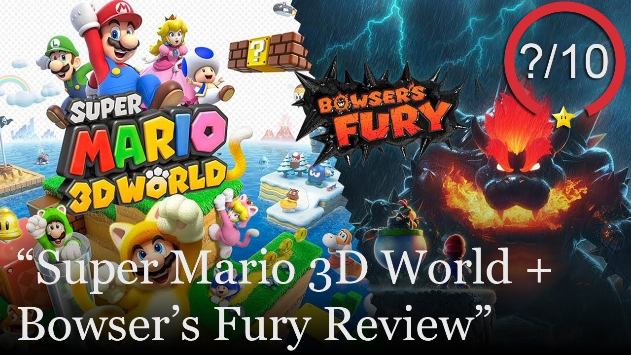 Super Mario 3D World + Bowser's Fury Review [Switch] (Video Game Video Review)