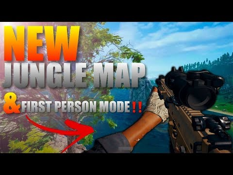 Pubg Mobile Update News New Jungle Map and First Person Mode ‼️