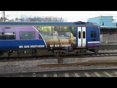 Trains at: Preston, WCML, 21/03/17